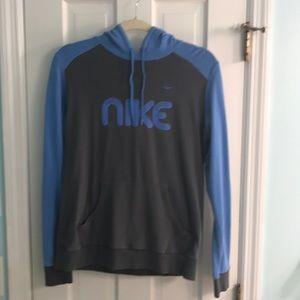 ⭐️ Nike blue & gray hoodie
